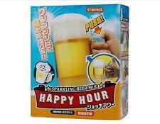 Creative Beer Foamer Mug Sparkling Beer Mug (Yellow)