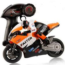 2.4G 1:16 High Speed CVT Motorcycle RC Remote Control Racing BIKE RTR Gyro E