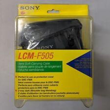 Sony LCM-F505 Semi-Soft Camera Carrying Case