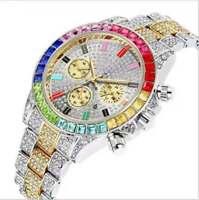 Orologio Diamond Uomo Donna in acciaio e Brillanti modelli ICE RAP TRAP di moda