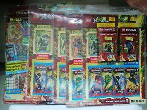 Lego Ninjago Serie 6 Die Insel, 1 x Starterpack + 4 x Multi - Pack + 2 x Blist