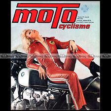 MOTOCYCLISME N°57 ★ KAWASAKI 400 S3 ★ SUZUKI TS 185 PHIL READ CAN AM OSCAR 1974