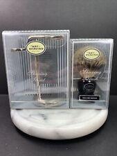 The Art Of Shaving Taos Nickel Shaving Brush Stand W/Fine Badger Brush Germany