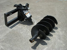 "Bobcat Skid Steer Attachment - Lowe BP210 Round Auger with 18"" Bit - Ship $199"