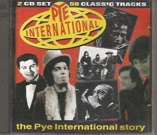 RARE SEQUEL DOUBLE CD PYE INTERNATIONAL STORY ETTAJAMES CHUCK BERRY TRAITS ++