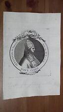 1775 Effigie Papa Innocenzo IV (Sinibaldo Fieschi dei Conti di Lavagna Manarola)