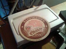 sottobicchiere beer mats birra klosterbier