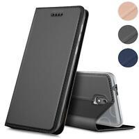 Handy Hülle für Nokia 2 Book Case Schutzhülle Tasche Slim Flip Cover Etui