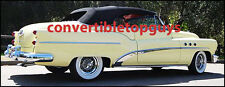 BUICK SUPER & ROADMASTER CONVERTIBLE TOP DO IT YOURSELF PACKAGE 1953