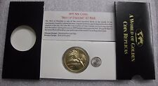 Papua New Guinea 1895 A 20 Mark Bird of Paradise Fantasy Proof Strike Coin