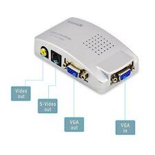 Convertisseur Splitter Vidéo  VGA vers SVHS et composite