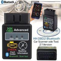 Bluetooth OBD2 ELM327 V2.1 Car Scanner Android Torque Auto Diagnostic Scan Tool