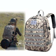 2018PUBG Playerunknown's Battlegrounds Level 3 Backpack Game Bag Military Winner