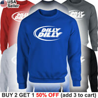 Dilly Dilly Sweater Sweatshirt Shirt Drinking Beer Bud Light Crown Party Funny