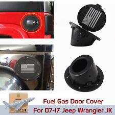 Jeep Wrangler JK Unlimited Accessories 2007-2017 ABS Fuel Tanks Cover Gas Cap
