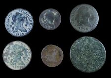 Charles III (1716-1788), 6 Coins Lot.
