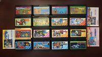 Famicom 16 FC game lots US Seller