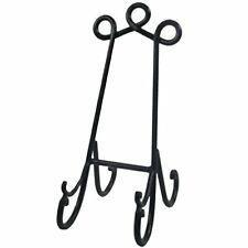 New Sturdy Table Top Black Metal Book Stand Holder Ideal Menu Artwork Picture