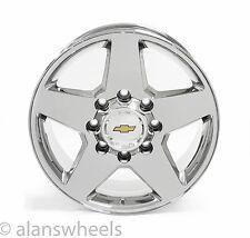 "Chevy Silverado HD 2500 3500 8 Lug 8x6.5"" 20"" Chrome Wheels Rims Suburban 5503"