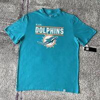 NWT Majestic NFL Miami Dolphins Football Shirt Mens Large