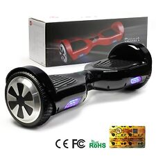 Black 6.5 Inch Self Balancing Scooter Electric Smart Hoverboard UL2272 Certified