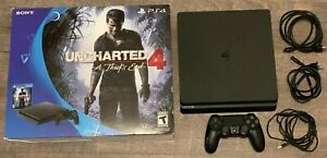 Sony PlayStation 4 Console 500GB PS4 System Jet Black w/ Original Box - NO GAMES