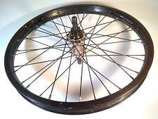 "Salt Plus+ Summit Rear Wheel BMX 20"" Cassette Complete Bike Rim Black 14mm Axle"