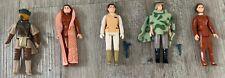 Princes Leia Vintage Star Wars Figure Bundle (5 different figures)