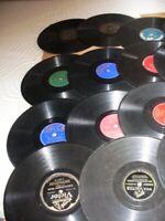 "Lot of 12-Early 1900s78 rpm 10"" Okeh, Arto, Cameo Puritan, Royale, Dana See List"