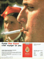 PUBLICITE ADVERTISING 026  1962  Peer Export  cigarettes à Athènes