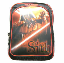 Star Wars Backpack Sith Darth Vader 3D Linticular Graphic Black & Red Back Pack