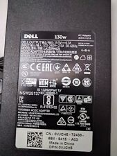 Genuine DELL Inspiron 15 7566 7567 Gaming P65F 130W Power Adapter Laptop Charger