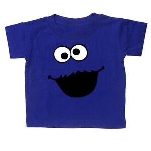 COOKIE MONSTER BABY TODDLER Kids T Shirt Sesame Street