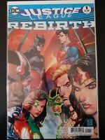⭐️ JUSTICE LEAGUE #1a Universe (2016 DC Rebirth Comics) VF/NM Book