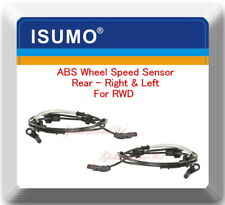 2 ABS Wheel Speed Sensor Rear/ Left/Right Fits:300 Charger Challenger Magnum RWD