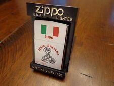 FESTA ITALIANA BRADFORD PA ZIPPO LIGHTER MINT IN BOX 071/500 2000