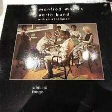 MANFRED MANN'S EARTH BAND 1986 LP CRIMINAL TANGO ORIG GERMANY VIRGIN EX-/VG+