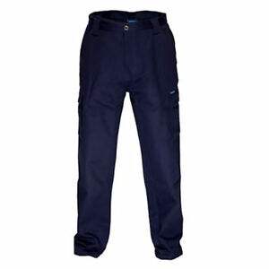 Prime Mover WWP70E Lightweight Cargo Pants NAVY w Double Cargo Pockets