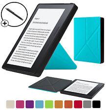Forefront Boitier Bleu Origami Housse Étui Intelligent pour Amazon Kindle Oasis