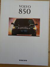 Volvo 850 range brochure 1993