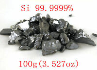 100 grams High Purity 99.9999% Monocrystalline Silicon Si Metal Lumps