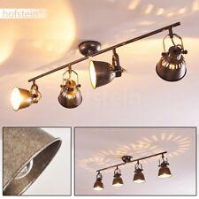 Plafonnier Retro Lampe à suspension en métal Lustre Lampe de cuisine 4 branches