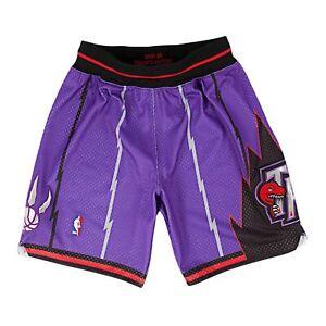 Mitchell & Ness Men NBA Authentic Shorts Toronto Raptors Purple Basketball 98-99