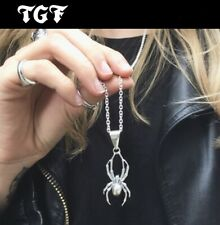 The Great Frog Spider Pendant Necklace 925 Handmade Sterling Silver Biker