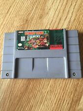 Donkey Kong Country- Super Nintendo Snes Game Cart Tested Works NG5
