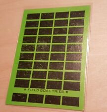 1975 TOPPS FOOTBALL UNSCRATCHED SCRATCH OFF PRIZE CARD #NNO