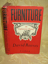 Antique Collectable Book Furniture An Explanatory History, By David Reeves- 1948
