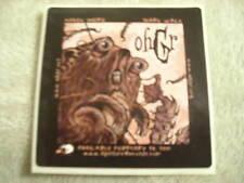 Rare Promo Ohgr Sticker Welt Skinny Puppy 2001 Pigface Revolting Cocks Ruby cd
