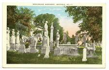 MAYFIELD KY Wooldridge Procession Grave Cemetery Vtg PC