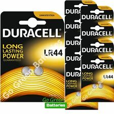 20 x Duracell LR44 1.5V Alkaline Button Cell Batteries LR 44 A76 AG13 357 hexbug